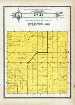 Township 27 Range 12, Shamrock, Holt County 1915
